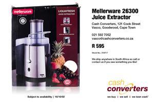 Mellerware 26300 Juice Extractor