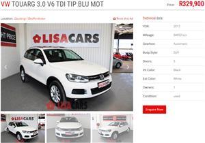 2012 VW Touareg 3.0 V6 TDI