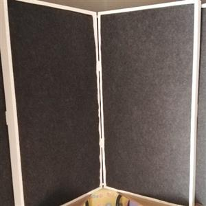 5x broadband acoustic panels