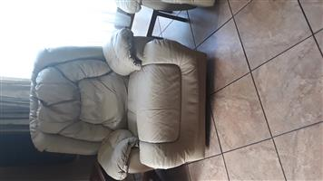 3 Piece Lounge Suite with recliner seats