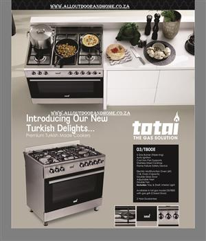 Totai 5-burner Stove (Elec Oven &  Grill) –MARKED DOWN SALE - FREE DELIVERY  (CONDITIONS APPLY)