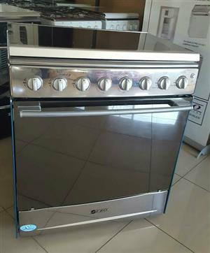 ZERO 6 BURNER GAS STOVE WITH GAS OVEN, GRILL - FREE COURIER AVAILABLE COUNTRY WIDE - NEW ORDERS OPEN