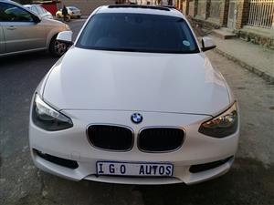 2015 BMW 1 Series 118i 5 door M Sport auto