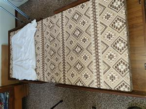 Fold-up bed/table for sale