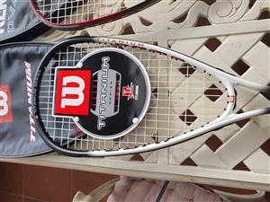Wilson Titanium Squash Racket
