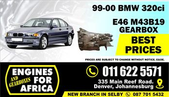 Used BMW 318ti N42B20A 01-04 5speed Gearbox FOR SALE