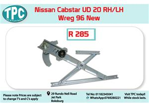Nissan Cabstar UD 20 RH/LH Wreg 96- for Sale at TPC
