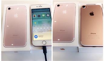 iphone 7 / Rose gold  / 128 gig
