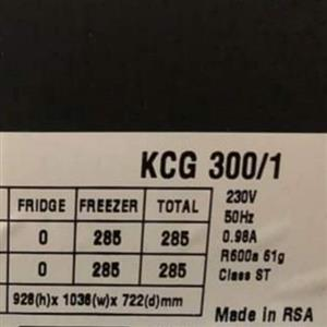 285L KIC Freezer for sale