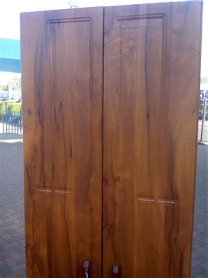 2 Door Wooden Kitchen Cupboard