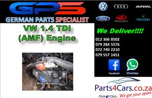 VW 1.4 TDI (AMF) Engine for Sale