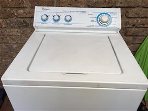 Whirlpool toploader washing machine