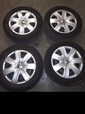 Polo tsi rims and tyres