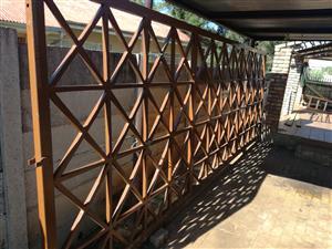 6.5m sliding gate