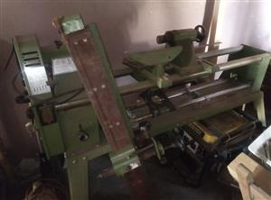 Tekny woodworking lathe machine for sale