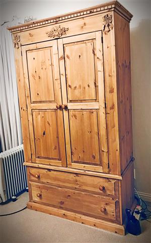 Imported Oregon Pine Cupboard