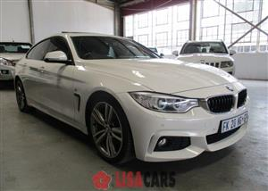 2016 BMW 4 Series Gran Coupe 420D GRAN COUPE M SPORT A/T (F36)