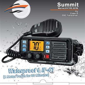 WADELINE SPECIAL ON SUMMIT VHF RADIO & ANTENNA