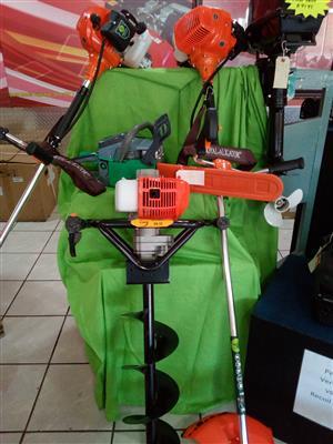 Brush cutter two stroke 43 cc motor