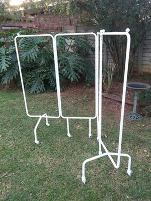 Outdoor white stand for sale