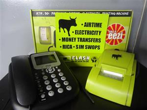 FLASH MACHINE - SELL AIRTIME, ELECTRICITY ETC