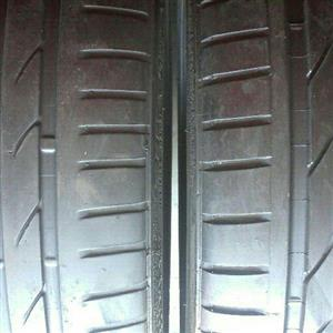 Fairly used sets of Runflats and Hi performance tyres for sell