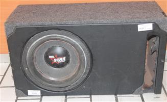 Digital star sound subwoofer S041785A #Rosettenvillepawnshop