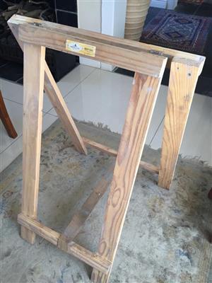Swartland / Col Timber solidwood Trestles (Bokkies) - see sizes below