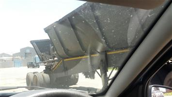 Side tipper top trailers link for sale or swap