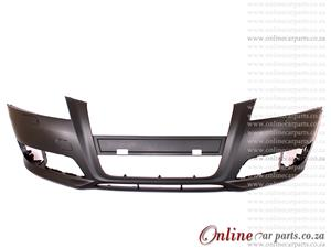 Audi A3 Hatchback Front Bumper With Washer Holes Primed