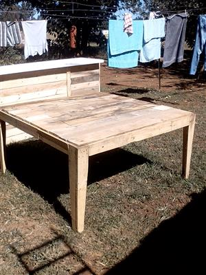 Tables new and used