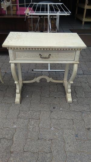 Larger beige drawer stand