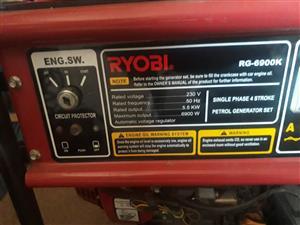 Ryobi Generator 5.5kva