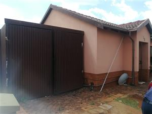 A neat freestanding home with 3 bedrooms & 2 bathrooms in a security complex, close to schools, shops and transport for ONLY R740 000!!!