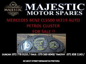 mercedes benz w219 cls 500 cluster