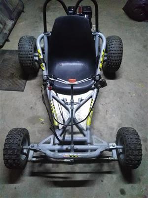 Flamin drift it go cart