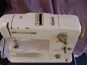 Bernina Record 730 Sewing Machine w/ foot Pedal - Made in Switzerland