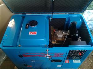 6.5kva Deseil generator for sale