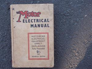 The Motor Electrical Manual.11th edition - Temple Press ltd
