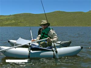 fly fishing Kick boat