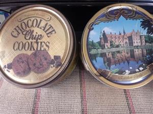 Chocolate chip cookie bins