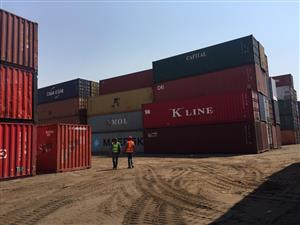 12m (40') High Cubed wind and watertight containers available