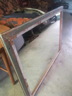 Large mirror for sale.