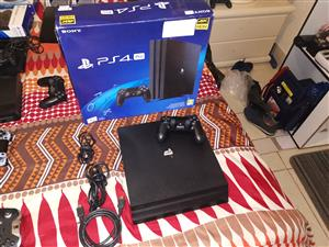 Sony PS4 pro 1tb console in perfect condition