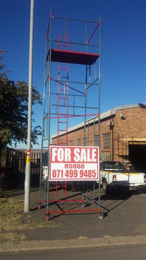 Scaffolding For SALE 6M High Towers