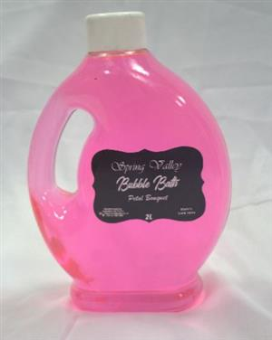 Spring Valley Bubble Bath Petal Bouquet 2L
