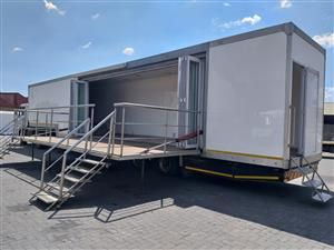 15 M GIG RIG MOBILE SHOW TRAILER for Sale