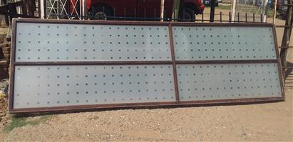 2nd Wooden panel window 1 m by 3.3 m cheap!!