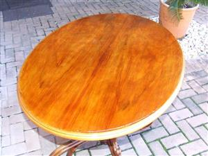 Antique Bentwood Table by Josef & Jacob Kohn of Austria - Around the year 1849. Value +-$3000.00 (+-ZAR 40 000.00)