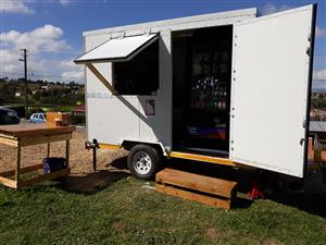 Coffee and vending trailer for sale